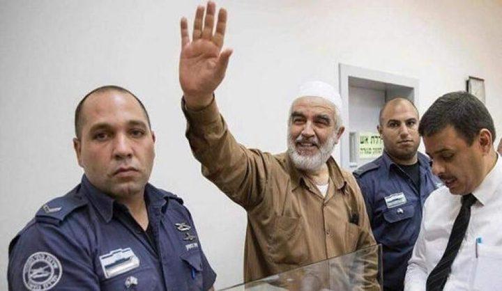 الاحتلال يحكم على الشيخ رائد صلاح بالسجن 28 شهرا