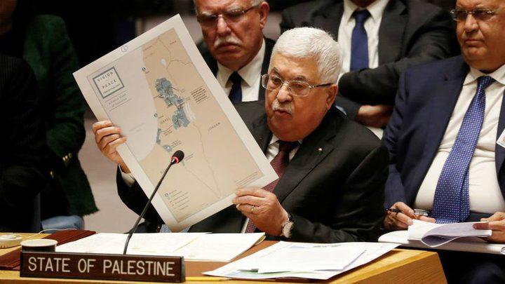 """الرئيس عباس: """"صفقة القرن"""" خطوة استباقية لتصفية القضية الفلسطينية"""