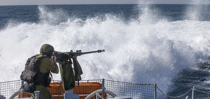 الاحتلال يطلق النار على مراكب الصيادين في بحر غزة