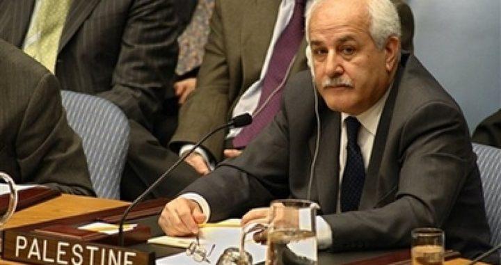 منصور: القيادة مستمرة في جهودها لرفض صفقة القرن
