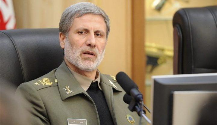 وزير الدفاع الإيراني: صواريخنا لا تحمل رؤوسا نووية