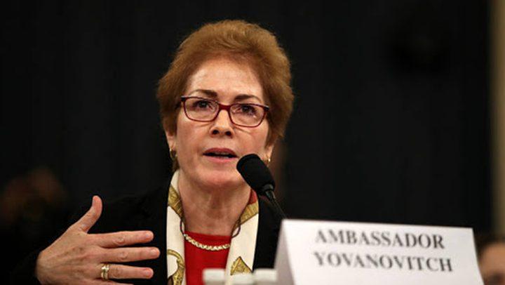 سفيرة أميركية مقالة تصف دبلوماسية بلادها بغير الأخلاقية