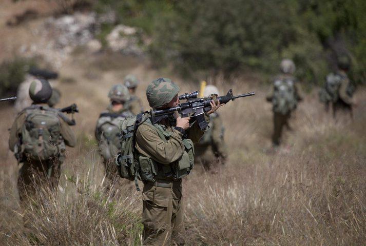 الاحتلال يجري تدريبات عسكرية بالاغوار الشمالية