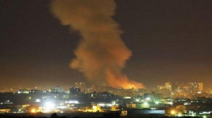 طائرات الاحتلال تهاجم دمشق والدفاعات تتصدى
