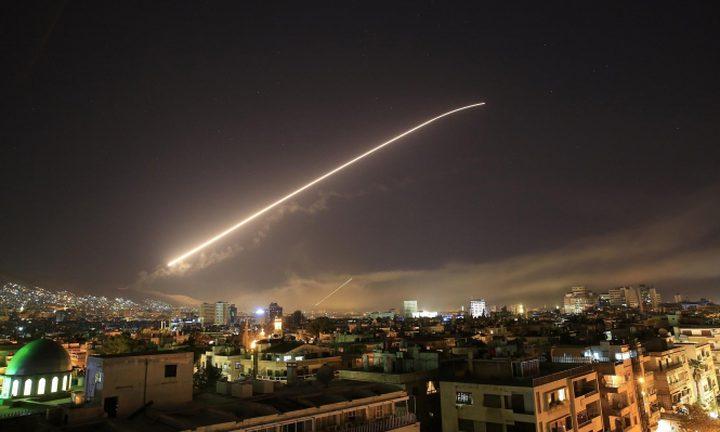 مقتل 4 ضباط إيرانيين و3 من النظام السوري في القصف إسرائيلي لدمشق