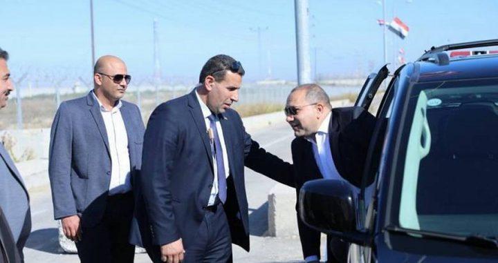 بشكل مفاجئ..وفد مصري يزور قطاع غزة