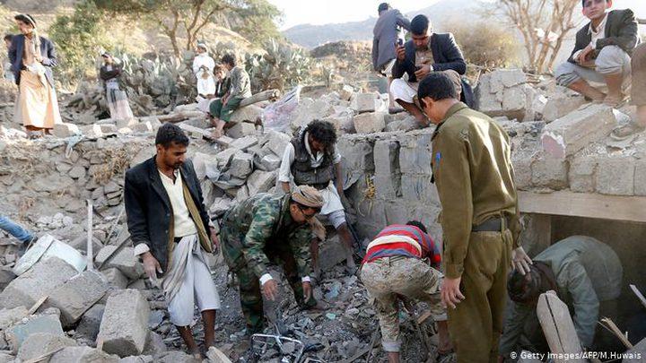 30 قتيلا بغارات للتحالف العربي على الحدود اليمنية السعودية