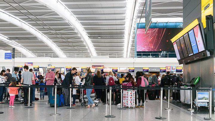 """لندن: احتجاز 8 طائرات في مطار هيثرو بسبب """"كورونا"""""""