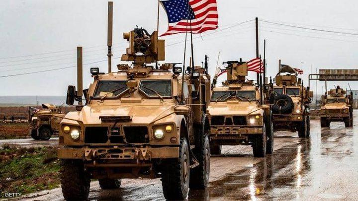 50 شاحنة أميركية تغادر العراق إلى سوريا