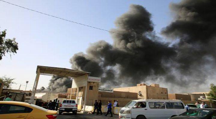 هجوم صاروخي يستهدف قاعدة للتحالف الأميركي في بغداد