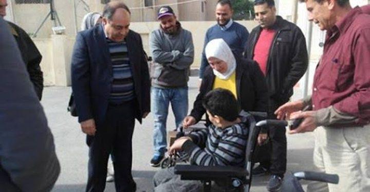 مكرمة رئاسية لعدد من ذوي الإعاقة في طولكرم