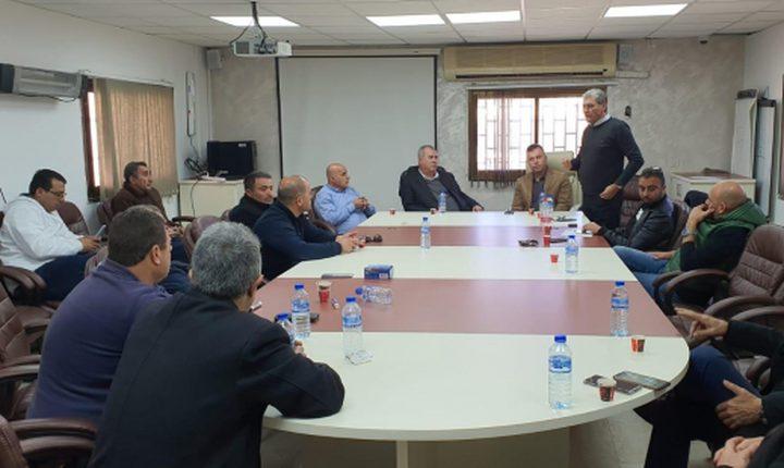 جلسة لمواجهة أوامر الهدم في قرية نحف