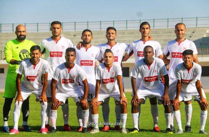 غزة الرياضي يهزم الهلال ويتمسك بأمل البقاء