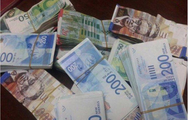 الاحتلال يخطط لخصم 1.7 مليار شيكل من أموال السلطة الفلسطينية