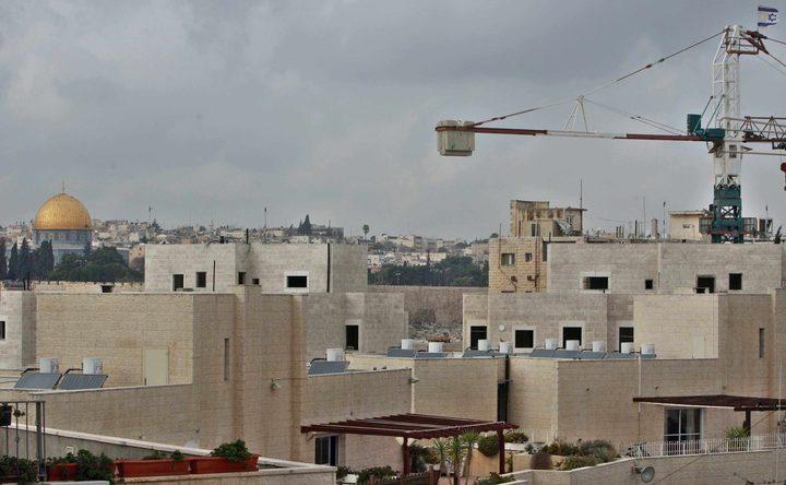 حكومة الاحتلال تعتزمبناء 9 آلاف وحدة استيطانية شمال القدس