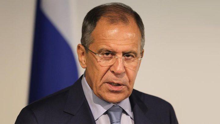 لافروف ونظيره الأردني يبحثان الوضع في سوريا وليبيا