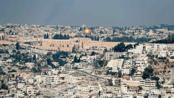 الاحتلال يعتزم بناء 9 آلاف وحدة استيطانية شمال القدس