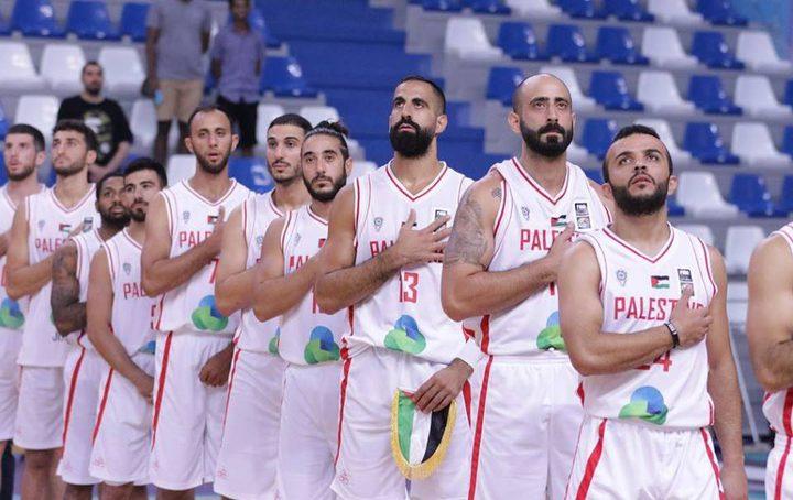 منتخب فلسطينلكرة السلة يستعدلملاقاة نظيرهالكازخستاني