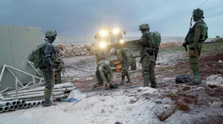 قوات الاحتلال تعيد لبنانيا تجاوز الحدود