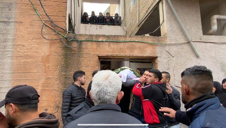 تشييع جثمان الفتى صلاح زكارنة 17 عاماً في قباطية