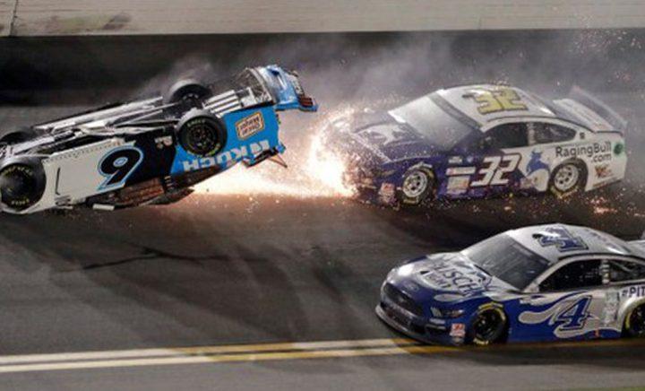 """حادث مروع في سباق """"دايتونا 500"""""""