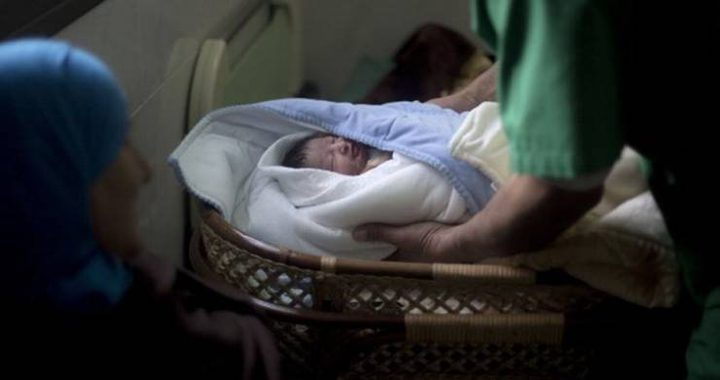 زوجة أسير تُرزق بطفل حملت به عبر النطف المهربة