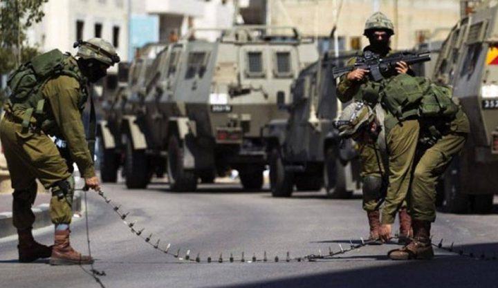 الاحتلال يغلق حاجز تياسير في كلا الاتجاهين