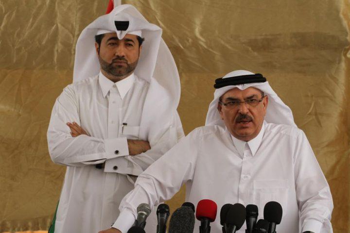 العمادي يعلن تأجيل دفع أقساط شقق مدينة حمد في غزة لعام 2020