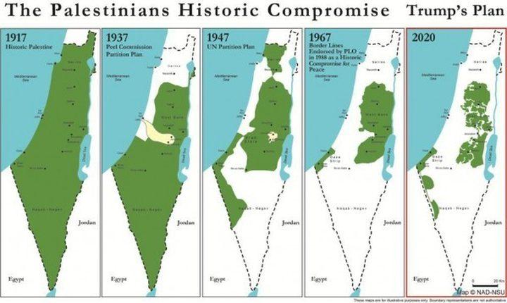 دراسة إسرائيلية: صفقة القرن تهديد حقيقي لدولة الاحتلال