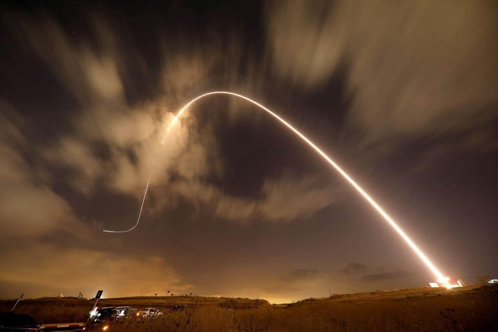 رد فعل الاحتلال على اطلاق القذائف الصاروخية من قطاع غزة