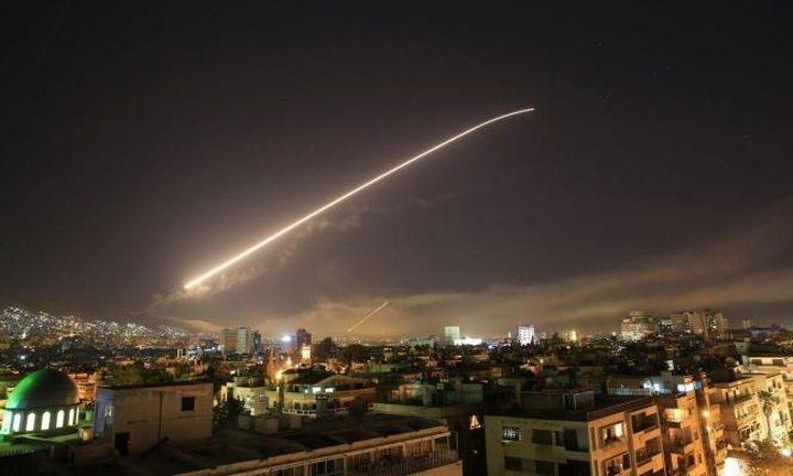 """""""سانا"""": الدفاعات الجوية السورية تتصدى لاهداف معادية جنوب دمشق"""