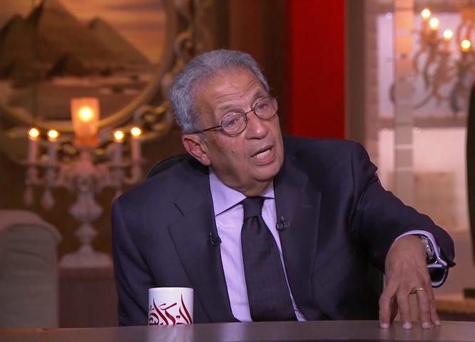 """عمرو موسى: سيف الشرعية سيظل مسلطا على """"صفقة القرن"""""""