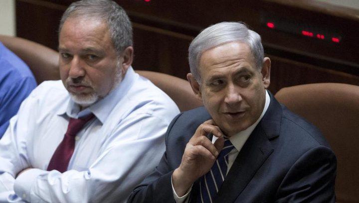 """ليبرمان: """"نتنياهو يشتري الهدوء من حماس لمصلحته الشخصية"""