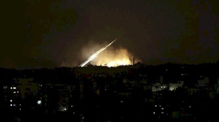 شهيدان بغارة إسرائيلية على موقع للجهاد الإسلامي في دمشق