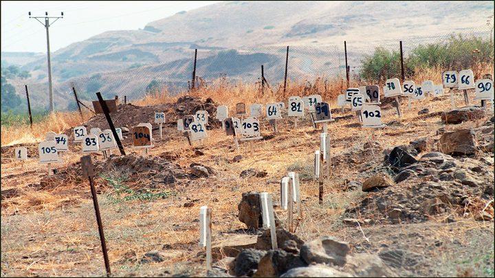 مقابر الأرقام...إنتهاك للإنسانية وانتقام من الشهداء وذويهم