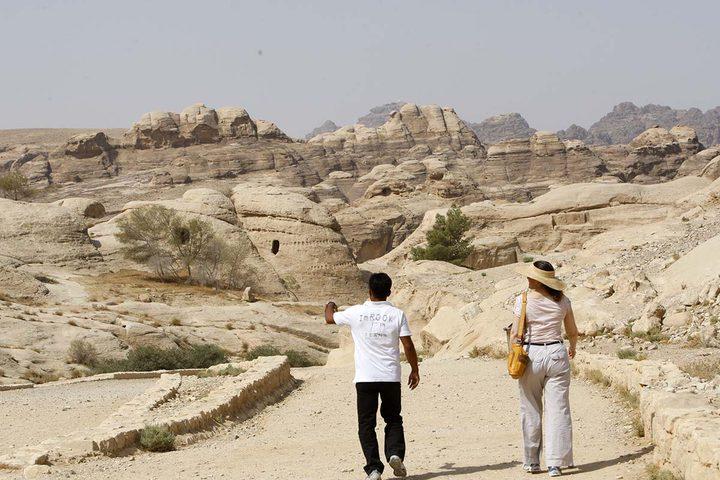 البتراء المدينة الوردية بناها العرب الانباط قبل آلاف السنين