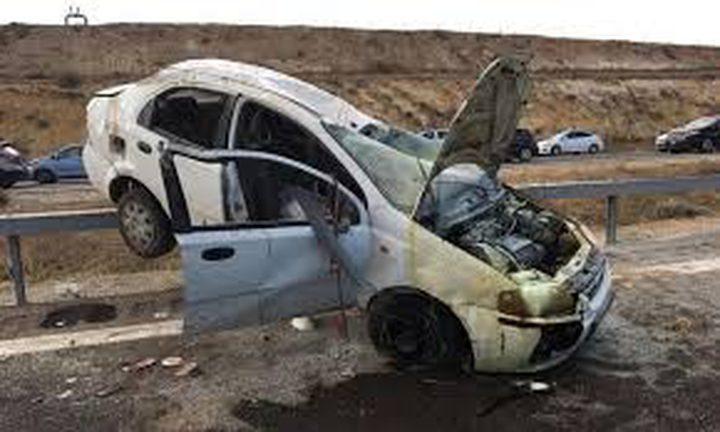 مصرع شاب من النقب في حادث سير