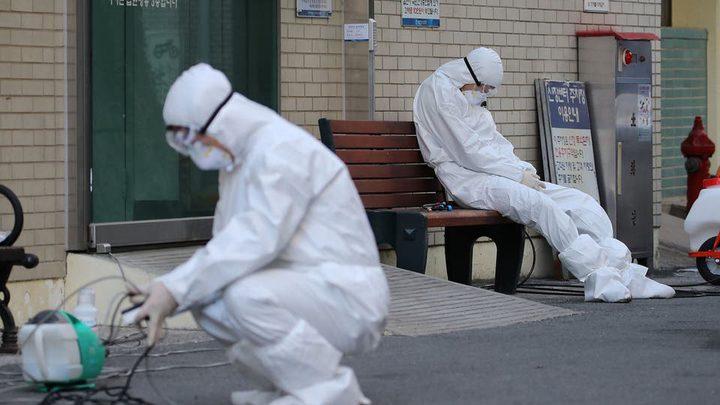 161 حالة إصابة جديدة بفيروس كورونا في كوريا الجنوبية