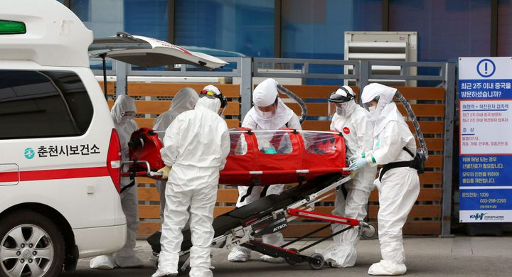 """60 إصابة جديدة بـ""""كورونا"""" في كوريا الجنوبية"""