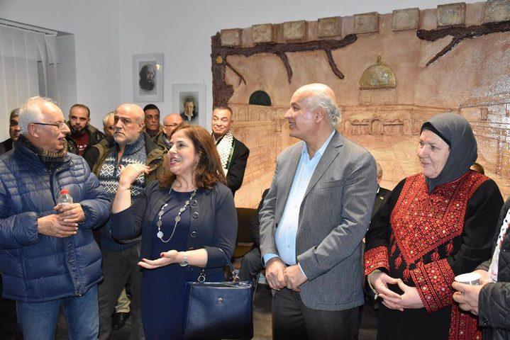 افتتاح البيت الفلسطيني الألماني في برلين
