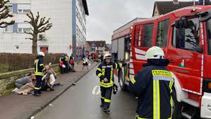 جرحى بينهم 18 طفلا في حادث دهس في ألمانيا