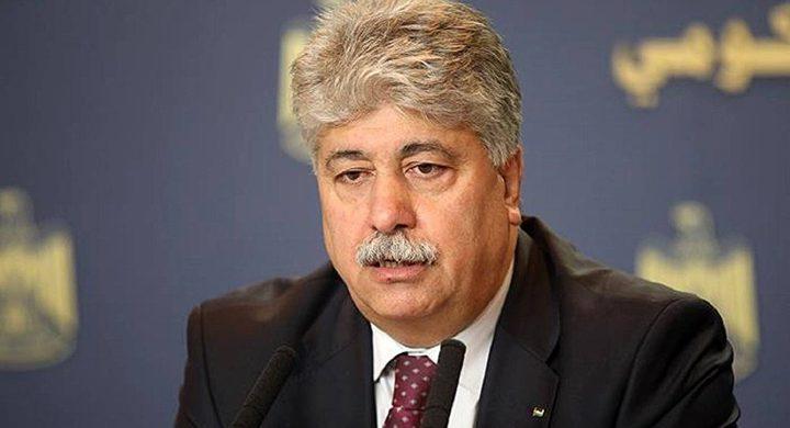مجدلاني: على العالم أن يعترف بالدولة الفلسطينية