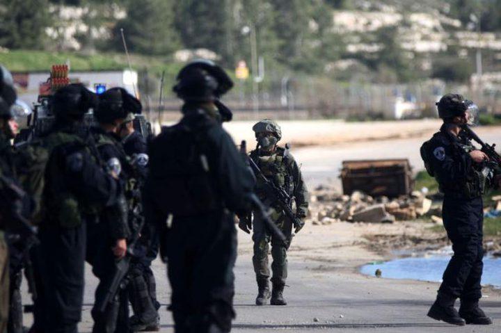 """اعتصام في أريحا احتجاجا على اعتقال الاحتلال أمناء سر """"فتح"""""""