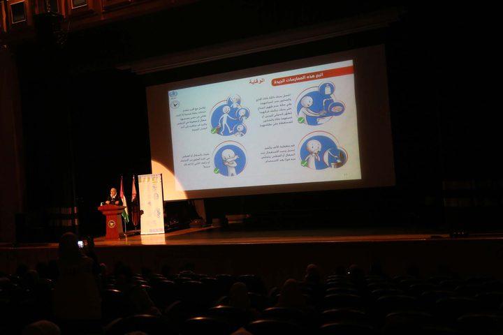 محاضرة تثقيفية حول فايروس كورونا وطرق الوقاية وطرق انتقال العدوى.