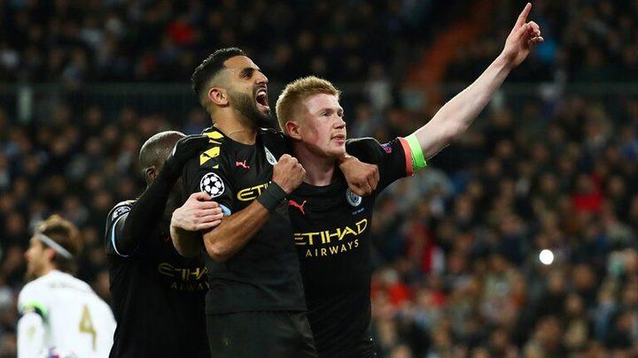 مانشستر سيتي يفاجئ ريال مدريد بدوري الأبطال