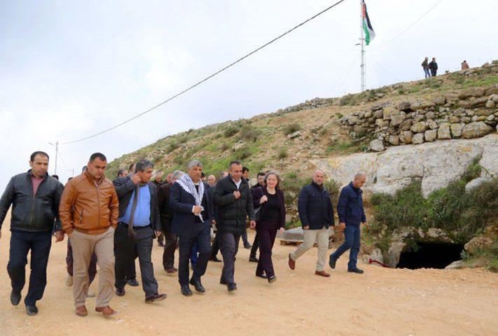 معايعة:البلدات القديمة تشكل جزءاً مهماً من اصالة شعب فلسطين