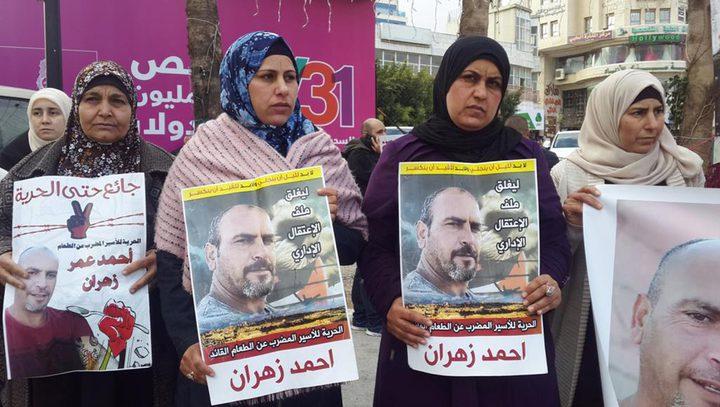 الاحتلال يقرر الإفراج عن الأسير أحمد زهران