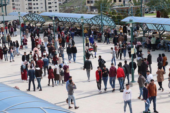 نهاية اسبوع سعيدة لكافة العاملين والطلبة في جامعة النجاح الوطنية .  عدسة عبدالرحيم قوصيني