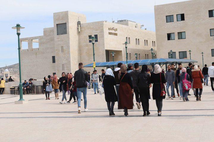 نهاية اسبوع سعيدة لكافة العاملين والطلبة في جامعة النجاح الوطنية .