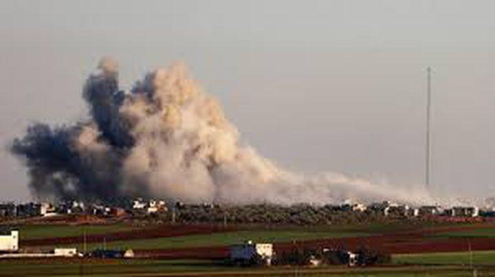 عشرات القتلى من الجنود الاتراك في قصف جوي على إدلب